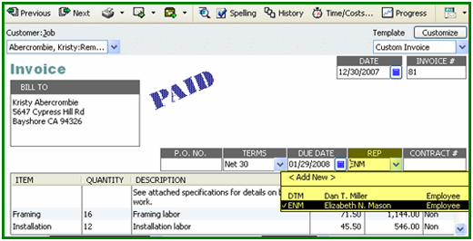 QCommission Integration With QuickBooks QCommission Is A Powerful - Quickbooks invoice status