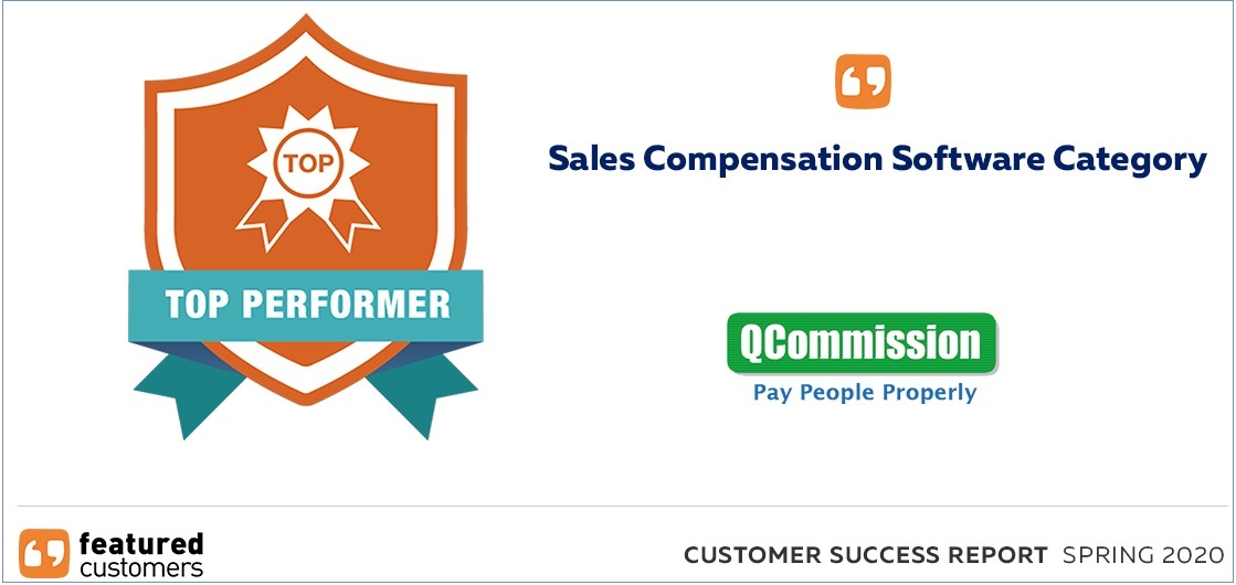 QCommission Top Performer Award on FeaturedCustomers